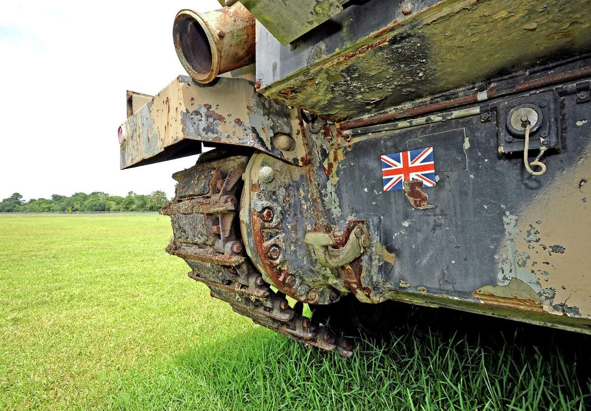 The1963 British Chieftain Mk 10 tank that is being restored in Beaumont. Photo taken on Thursday, July 11, 2013. Photo taken: Randy Edwards/The Enterprise