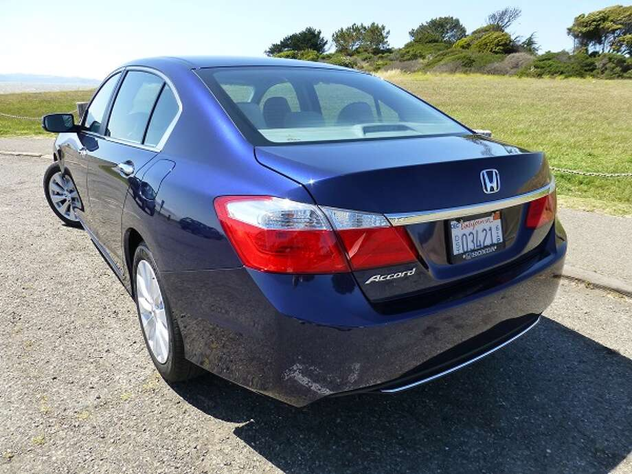 With the four-cylinder engine, the Accord gets EPA mileage of 27/36 mpg, city/highway. The car has a lot of competition out there, including the Hyundai Sonata/Kia Optima duo (Hyundai owns Kia), Toyota Camry and Ford Fusion, among others.