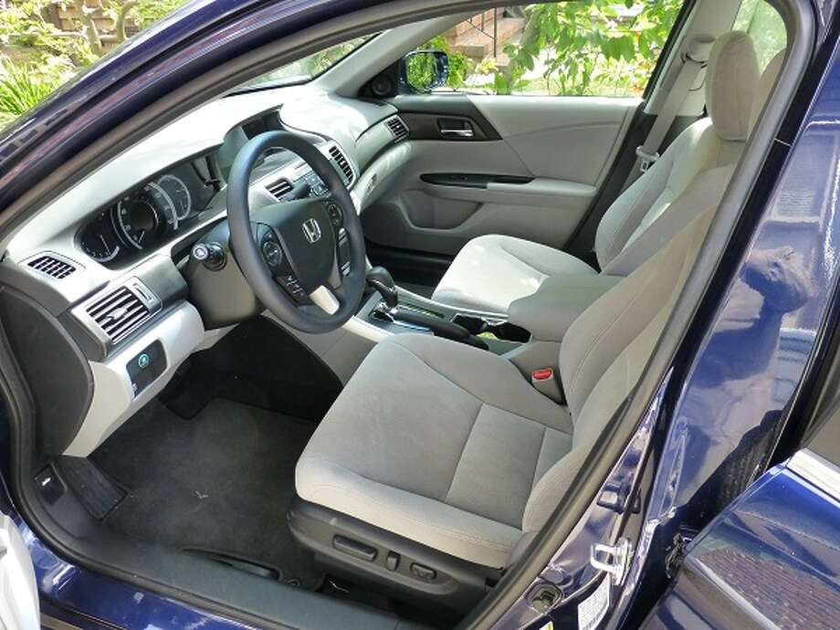 Our Accord had Bluetooth link, rearview camera and Pandora radio interface.