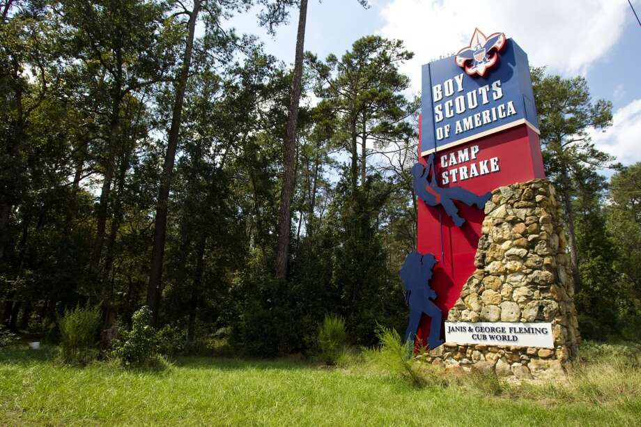 One of the entrances to Camp Strake is shown Tuesday, Sept. 25, 2012, in Conroe. Photo: Brett Coomer, Houston Chronicle