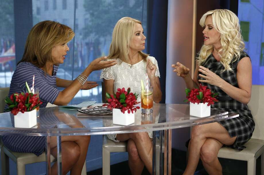 """Hoda Kotb, Kathie Lee Gifford and Jenny McCarthy appear on NBC News' """"Today"""" show Photo: NBC NewsWire, NBCU Photo Bank Via Getty Images"""