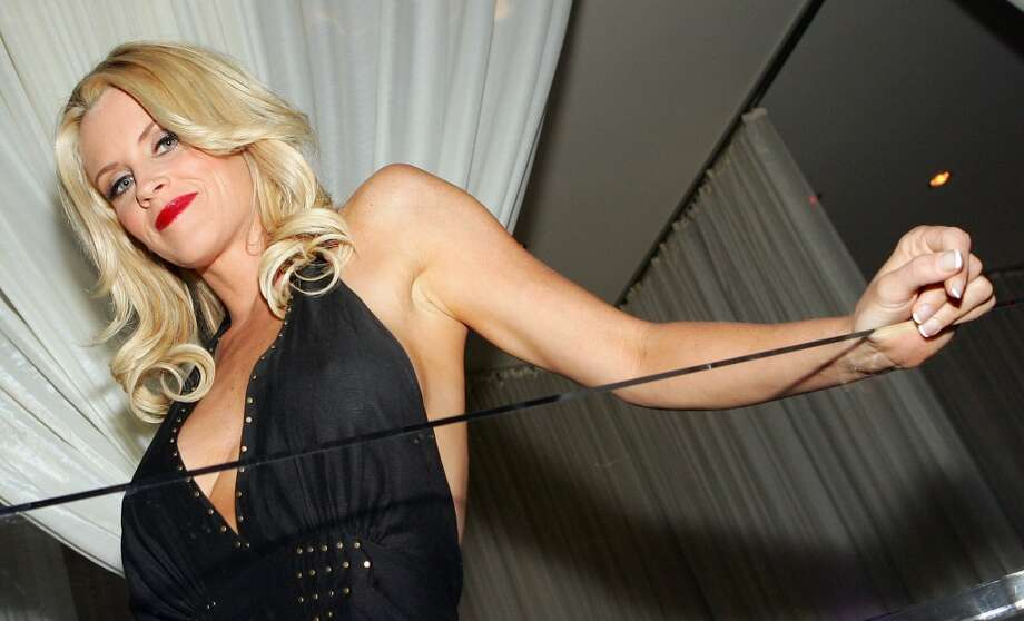 Actress Jenny McCarthy poses at a 2006 toga party. Photo: Ethan Miller