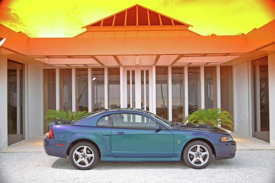 2004 Ford SVT Mustang Cobra Mystichrome. Photo: Ford, Wieck / Ford