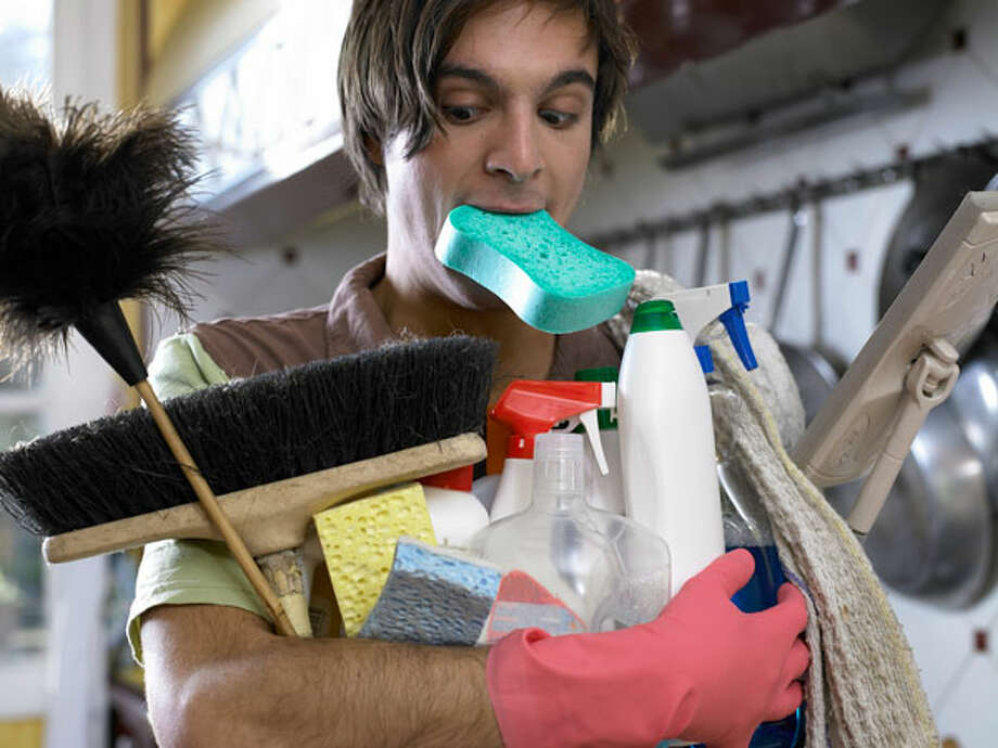 "Speed-Clean RegularlyIf you really want to cut down your cleaning time, Sardone says, then you really need to clean more often. Once you've deep-cleaned your house, give it a once-over every couple of weeks. It'll keep the place looking nice and spare you the long, agonizing job of doing several months' worth of cleaning at once. ""You create maintenance cleaning instead of catch-up cleaning,"" she says.Read more: 7 Sneaky Places In Your Home That Need Repairs  Photo: Didier Robcis, Getty Images"