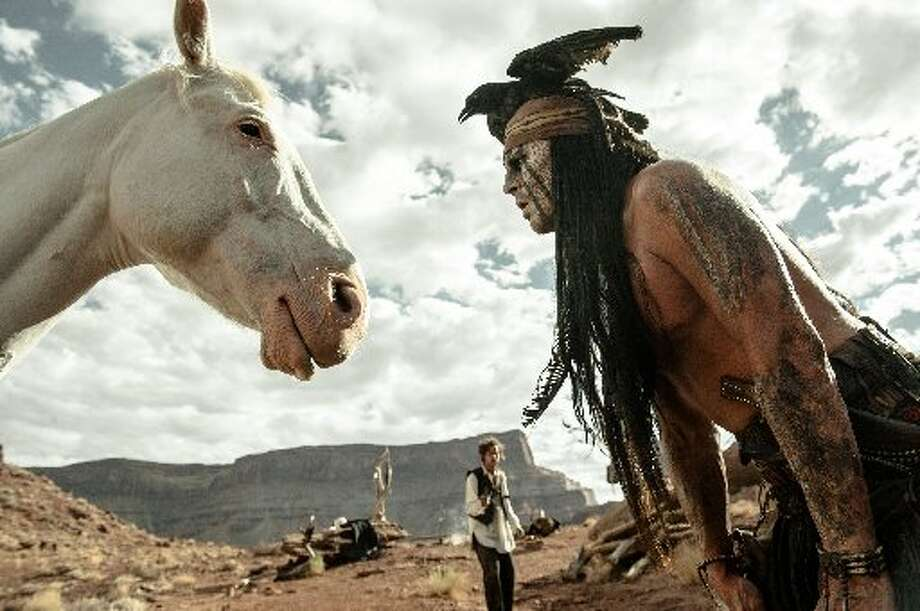 The Lone Ranger flopped with an opening of just $48.9 million.