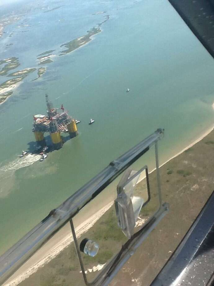 Shell's largest and newest tension leg platform started its final journey on Sunday, setting sail from Ingleside, Texas for a 425-mile voyage to the Mars B Field in the Gulf of Mexico.