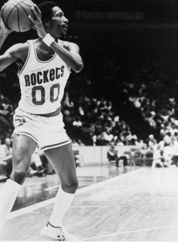 00 - Calvin GarrettGarrett averaged 5.3 points in two-plus years with the Rockets from 1980-1983. He started 22 games in the 1981-82 season. Photo: Courtesy Of Houston Rockets