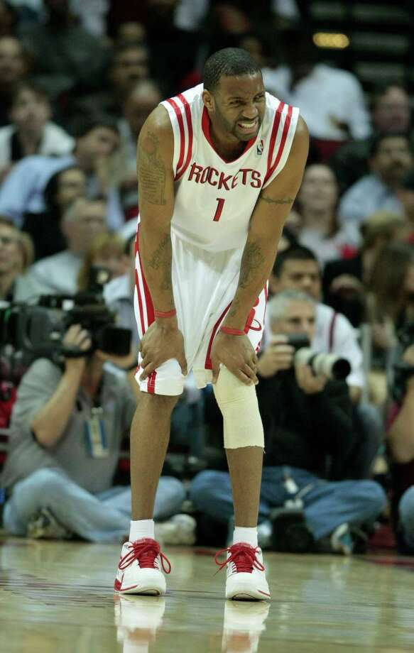 1 - Tracy McGrady In five-plus injury-riddled seasons with the Rockets, he averaged 22.7 points and became the 12th leading scorer in franchise history with 6,888 points. He was a three-time All-Star and led the Rockets to the playoffs three times. Photo: Billy Smith II, Houston Chronicle / Houston Chronicle