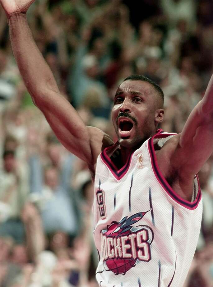 8 - Eddie JohnsonJohnson finished his 17-year NBA career with two seasons in Houston. He averaged 8.4 points in 75 games in the 1997-98 season. Photo: DAVID J. PHILLIP, AP / AP