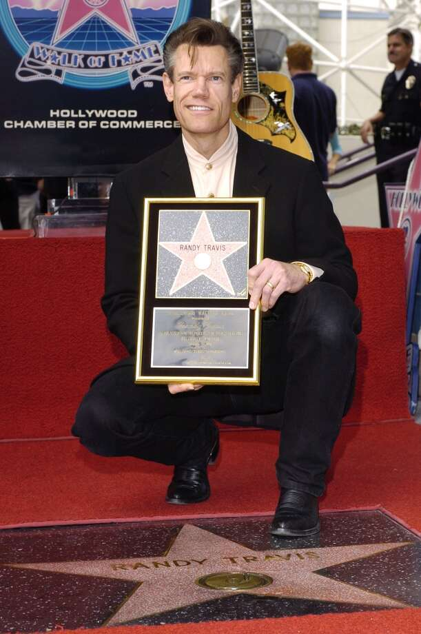 Randy Travis during Randy Travis Honored with a Star on the Hollywood Walk of Fame for His Achievements in Music at 7021 Hollywood Blvd. in Hollywood, California, United States. (Photo by L. Cohen/WireImage)