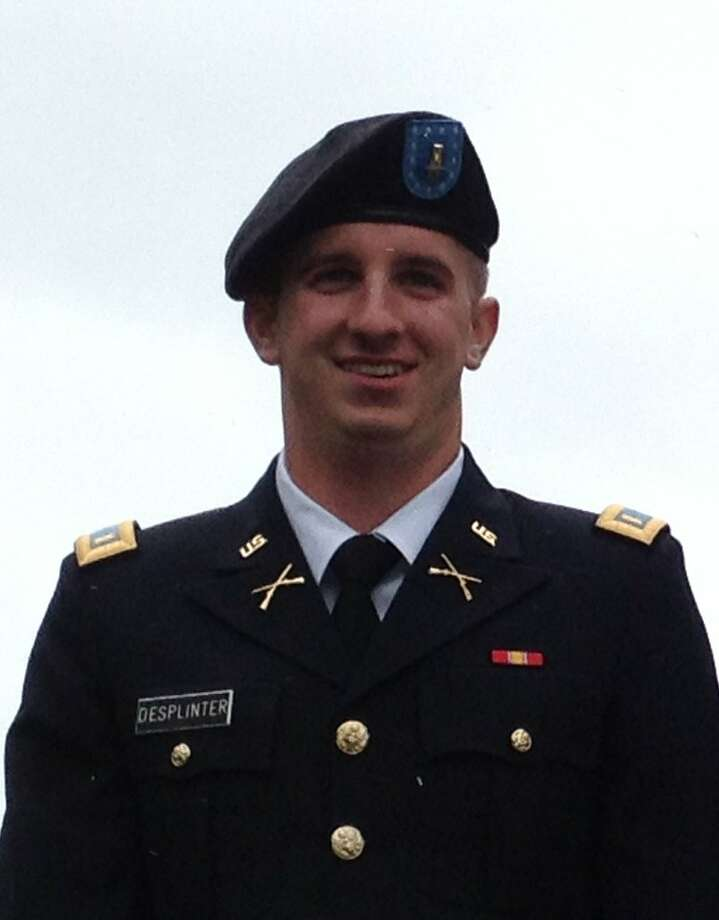 Andrew B. DeSplinter received a doctor of pharmacy in defense and strategic studies. Photo: Courtesy Of West Point Military Academy