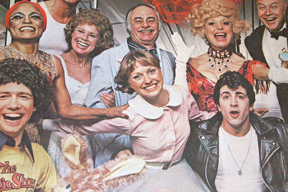 "In an original poster from the Broadway production of ""Grease,"" New Canaan's Melody Libonati, center, played Sandy Dumbrowski. Libonati is directing the Summer Theatre of New Canaan's offering of the 1950s-themed musical, which opens with a preview on Saturday, July 20. Photo: Contributed"
