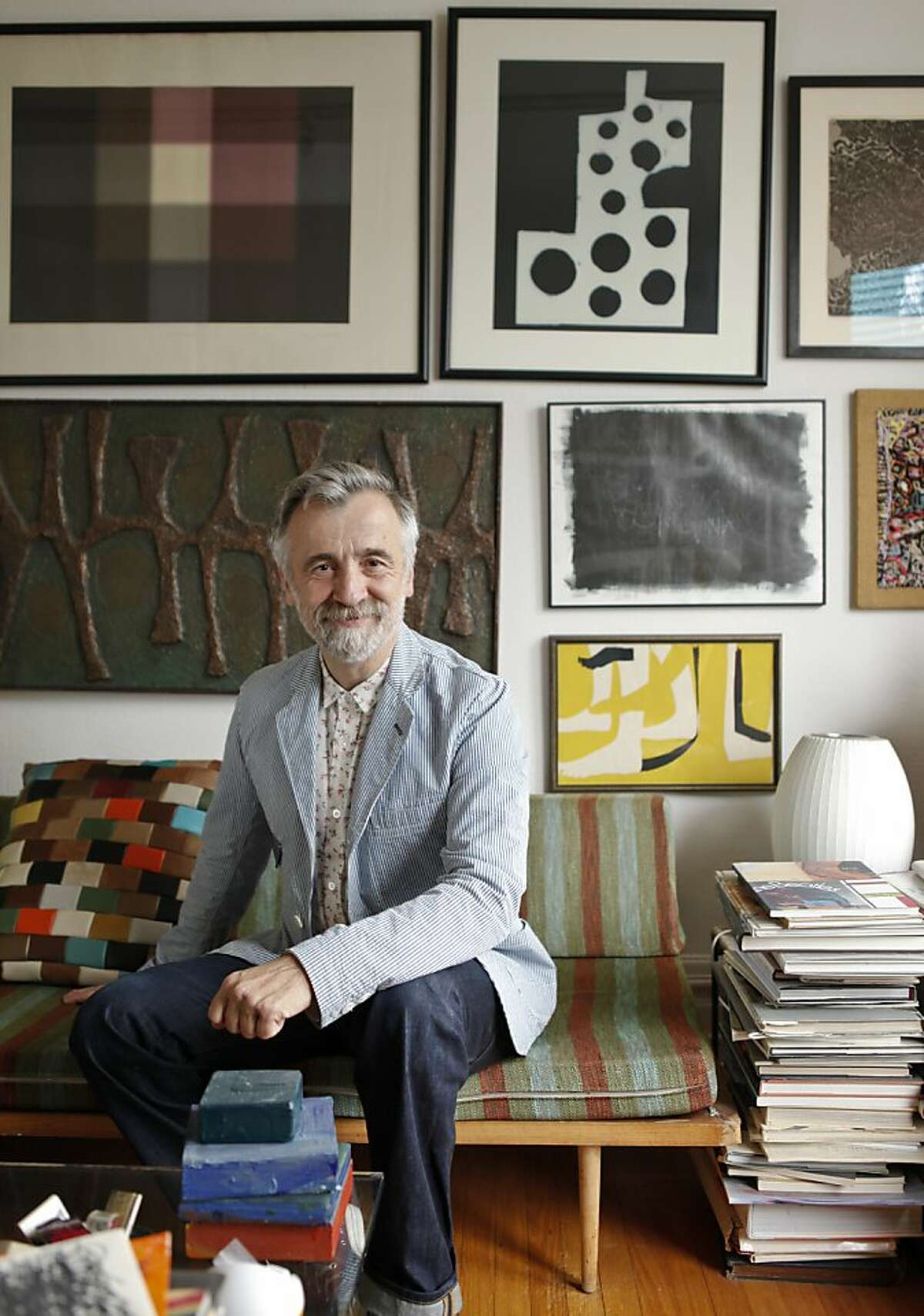 Ben Ospital is seen in his North Beach district home in San Francisco, Calif., on Wednesday, May 8, 2013.