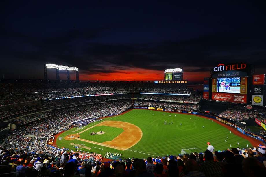 A general view of the Home Run Derby at Citi Field.