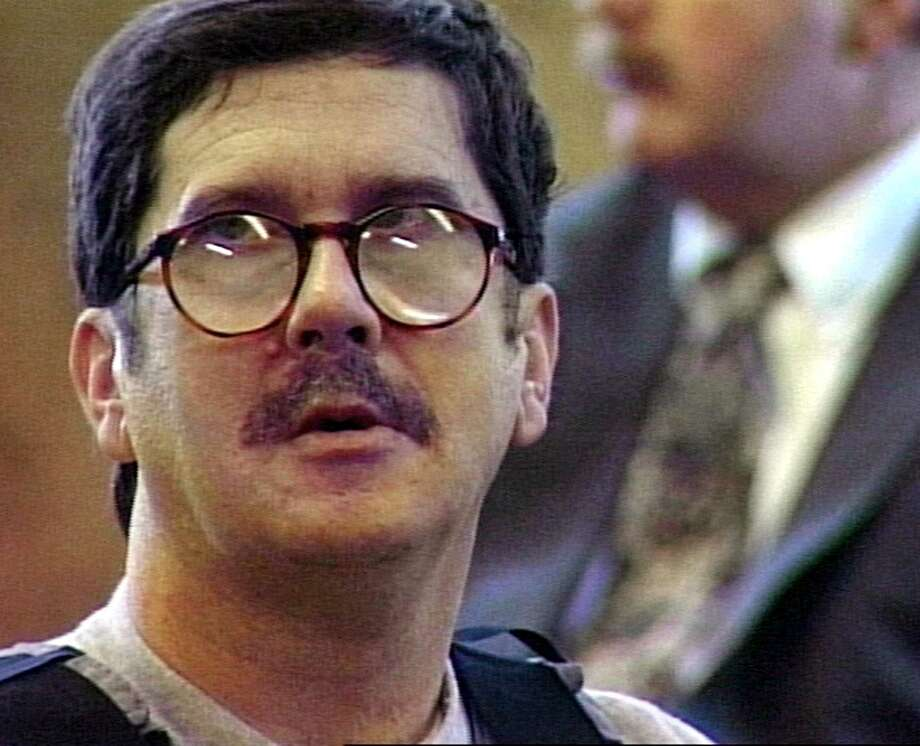 VIDEO STILL COURTESY OF WNYT-TV (AS PER BILL FROM THE ASSIGNMENT DESK) VIDEO STILL OF CONVICTED SERIAL KILLER LEWIS LENT JR. AT HIS SENTENCING IN HERKIMER COUNTY COURT ON APRIL 11, 1997.  04/12/97 Photo: VIDEO STILL / WNYT-TV