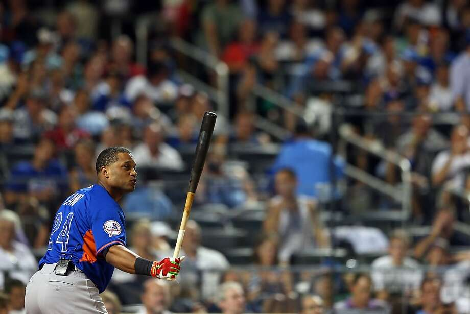 Robinson Cano of the New York Yankees bats during the Chevrolet Home Run Derby. Photo: Mike Ehrmann, Getty Images