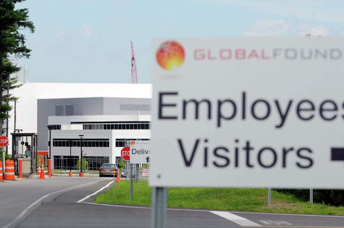 A view of GlobalFoundries Monday, July 15, 2013 in Malta, NY. CNET.com is reporting that Apple is considering GlobalFoundries' $6 billion state-of-the-art computer chip factory at the Luther Forest Technology Campus in Malta as a possible source of chips for its smartphones and tablets. (Paul Buckowski / Times Union)
