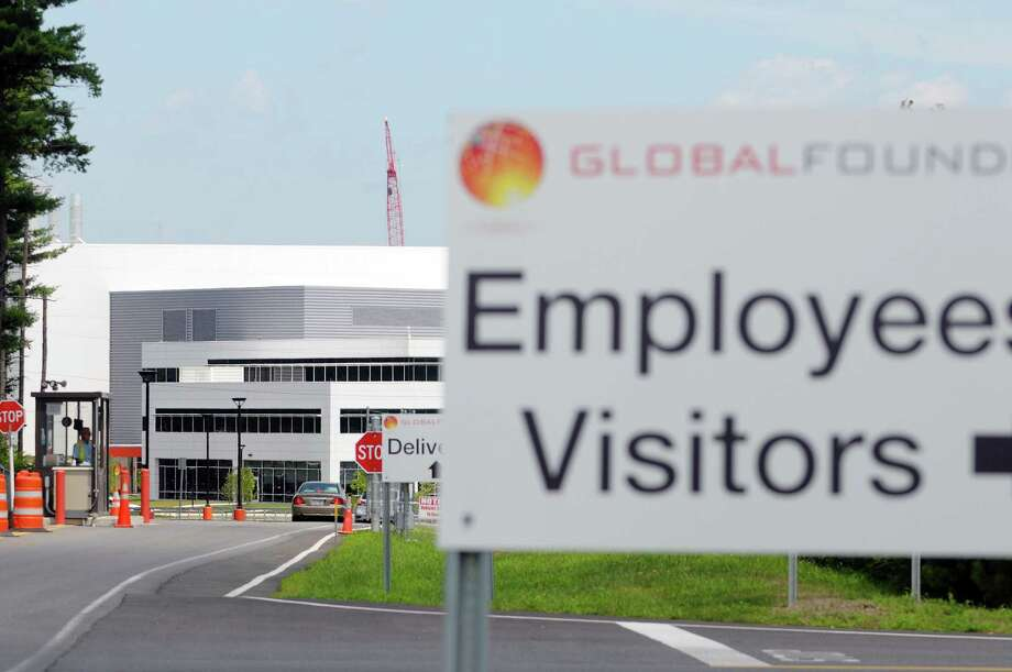A view of GlobalFoundries Monday, July 15, 2013 in Malta, NY. CNET.com is reporting that Apple is considering GlobalFoundries' $6 billion state-of-the-art computer chip factory at the Luther Forest Technology Campus in Malta as a possible source of chips for its smartphones and tablets.  (Paul Buckowski / Times Union) Photo: Paul Buckowski / 00023180A