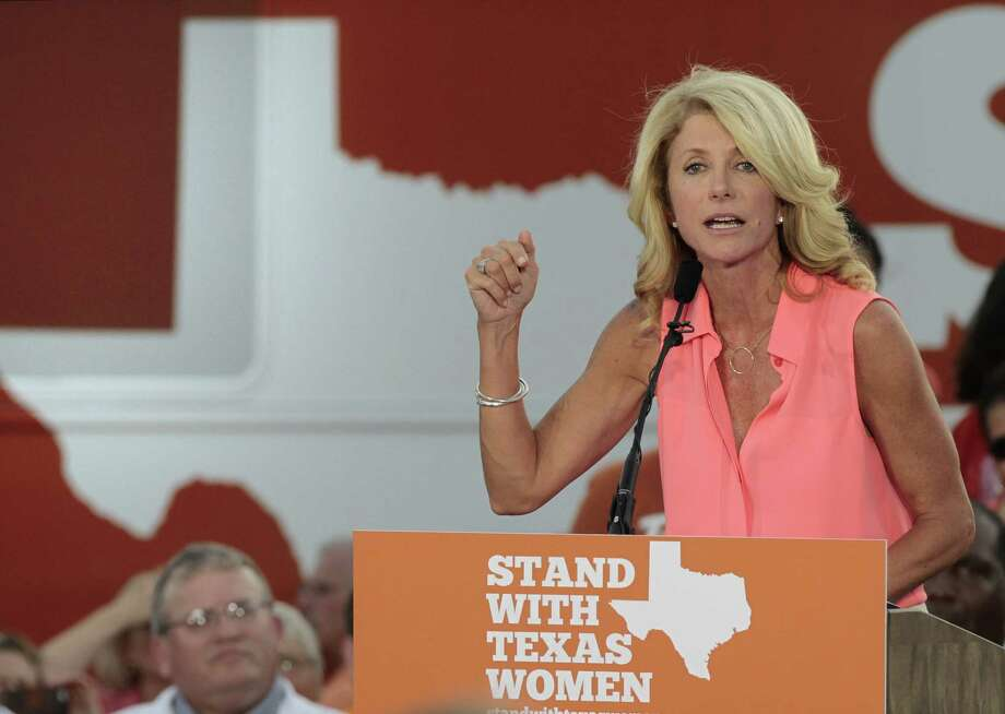 Sen. Wendy Davis, D-Fort Worth, reported Monday having $1.1 million on hand for a campaign.