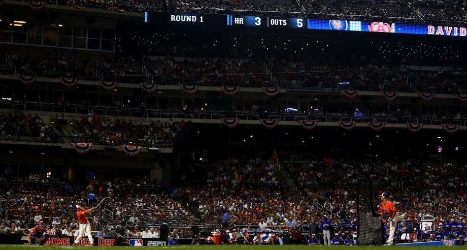 David Wright of the New York Mets during the Home Run Derby.