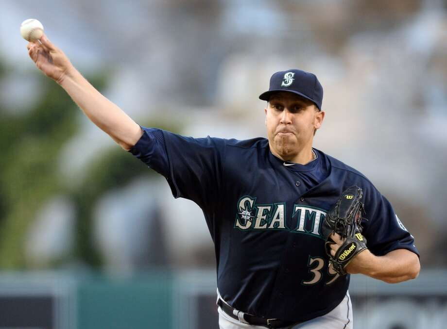 8. The starting rotation has been decent The Mariners opened the season with Brandon Maurer and Blake Beavan at the No. 4 and No. 5 spots in the rotation. Both starters were replaced shortly after the season began by Aaron Harang and Jeremy Bonderman. Now Bonderman is out and Erasmo Ramirez has taken over. Despite all of the chaos at the back end of the rotation, the Mariners have received solid contributions out of the No. 4 and No. 5 spots more often than not this season. Seriously, who would've guessed that Aaron Harang would be a key contributor to the Mariners in 2013? Joe Saunders has pitched decently at No. 3, as well.