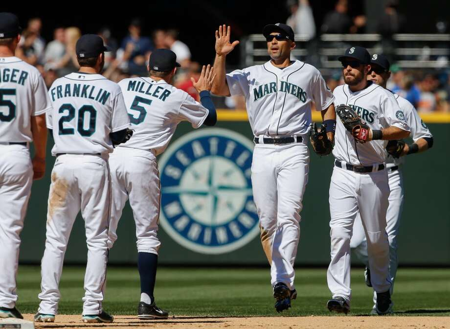 6. Anyone have a broom?   The Mariners have won plenty of series in 2013, they just haven't been able to sweep any away. That finally changed Sunday, when the team swept its first series of the season against the Angels. Prior to the three-game, the Mariners hadn't swept an opponent since Aug. 22, 2012, when the team swept the Cleveland Indians.