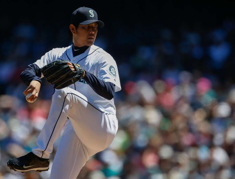 3.  Hisashi Iwakuma is better than we thought It comes as no surprise that Felix Hernandez leads the AL with an ERA of 2.53. What is surprising is that the M's No. 2 starter, Hisashi Iwakuma, is only a few paces behind him, raking sixth with an ERA of 3.02. Iwakuma has struggled a bit as of late, but the body of work this season has been tremendous. For a long stretch, the Japanese native boasted an ERA just north of 1.00. Despite his recent troubles, Iwakuma has still been better than we thought entering 2013. His performance has been good enough to earn him an All-Star appearance alongside Felix Hernandez this year.