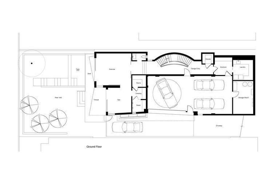 Grand ground floor plans. Thomas Biss, Sotheby's International Realty