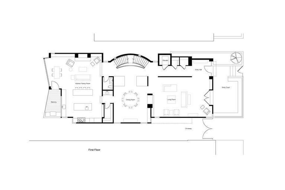 Plans for 1st floor. Thomas Biss, Sotheby's International Realty