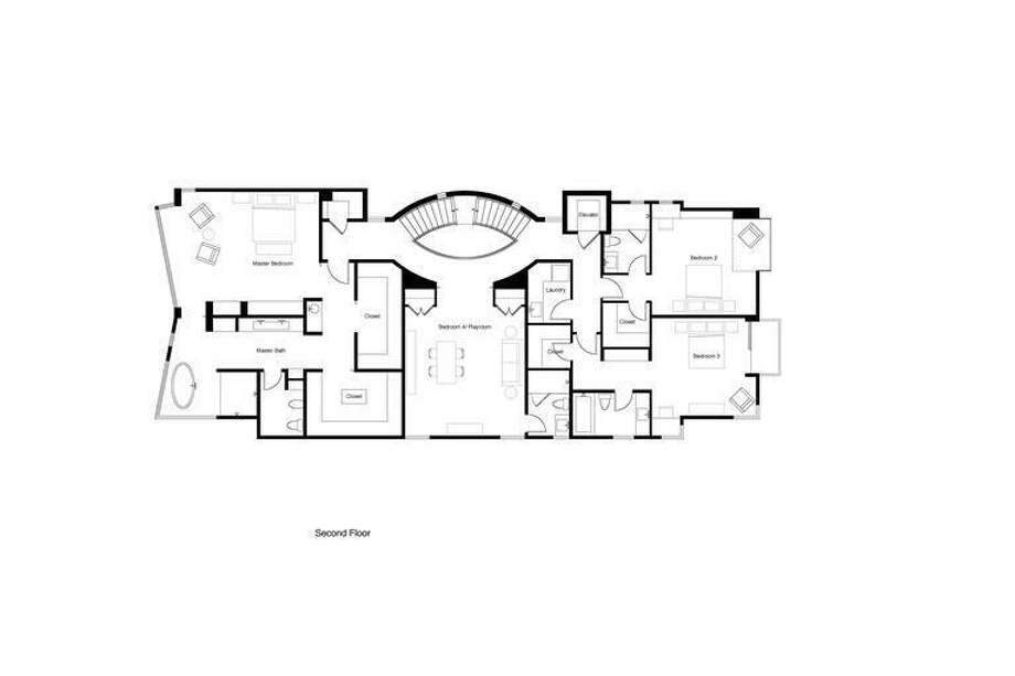 2nd floor plans. Thomas Biss, Sotheby's International Realty