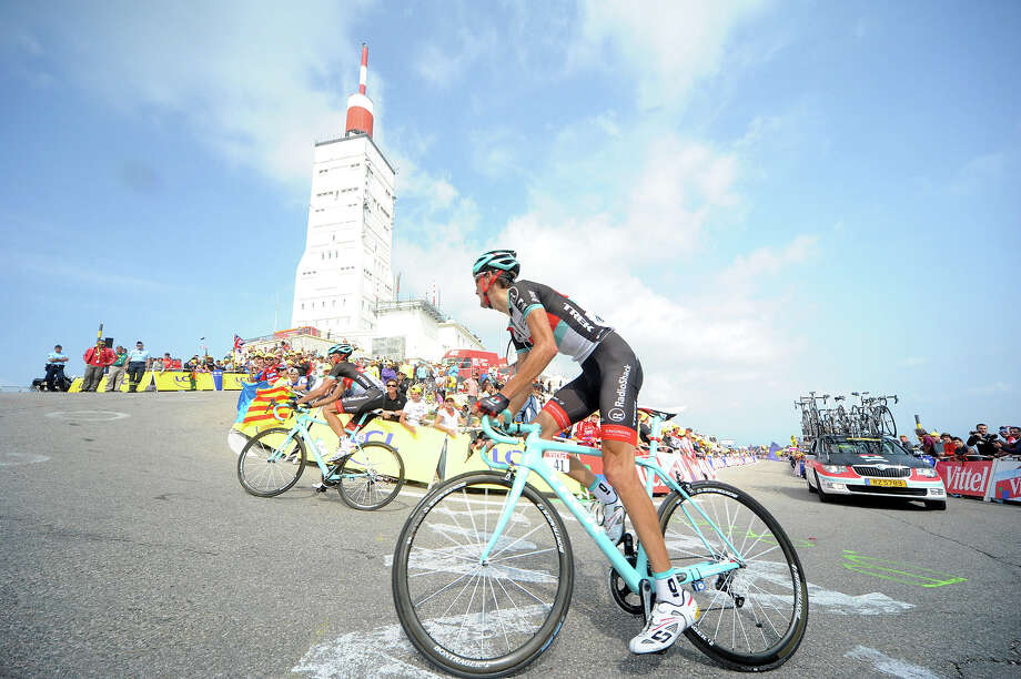 Andy Schleck of Team Radioshack Leopard during Stage 15 of the Tour de France on Sunday 14 July, 2013, Givors to Mont Ventoux, France. Photo: Agence Zoom, Getty Images / 2013 Agence Zoom