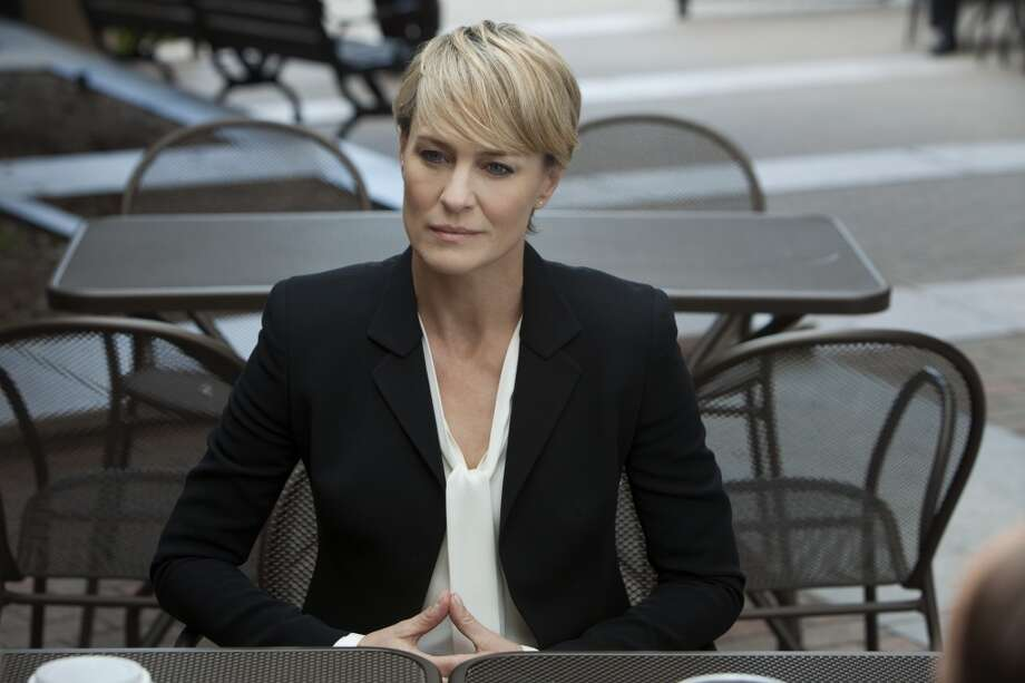"""Best Actress, Drama: Wild Cards: Robin Wright, """"House of Cards."""""""