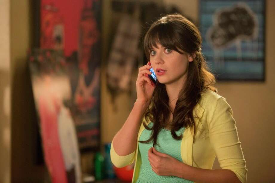 "Zooey Deschanel, ""The New Girl."""
