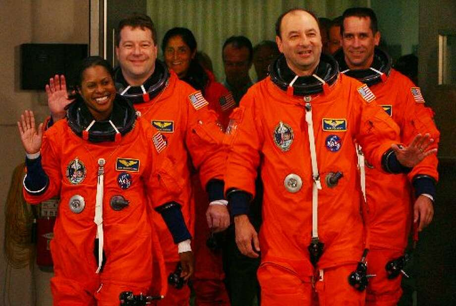 Discovery Astronauts from 2006