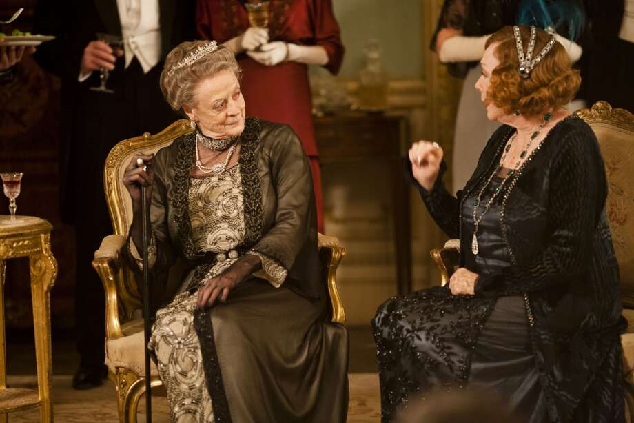 "Drama series: The wild cards: ""Downton Abbey,"" PBS."