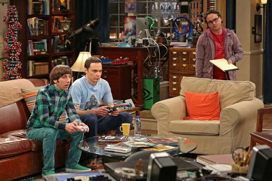 "Best Actor, Comedy: The probables: Jim Parsons, middle, ""The Big Bang Theory."""