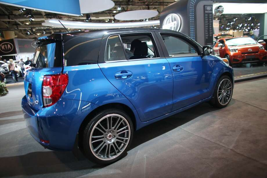 """Scion XDWhat Forbes said: """"The subcompact xD hatchback is boxier and more muscular looking than the typical small car to help give it a more urban-hip look.""""Source:Forbes"""
