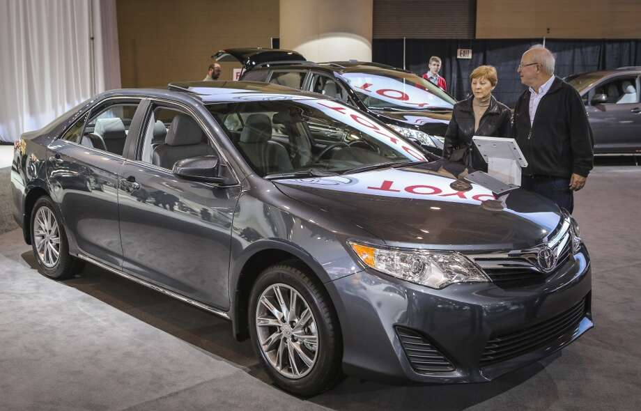 Best: Toyota Camry LE  Base price:  $22,235 - $30,465Source:Consumer Reports(David Cooper/Toronto Star via Getty Images)