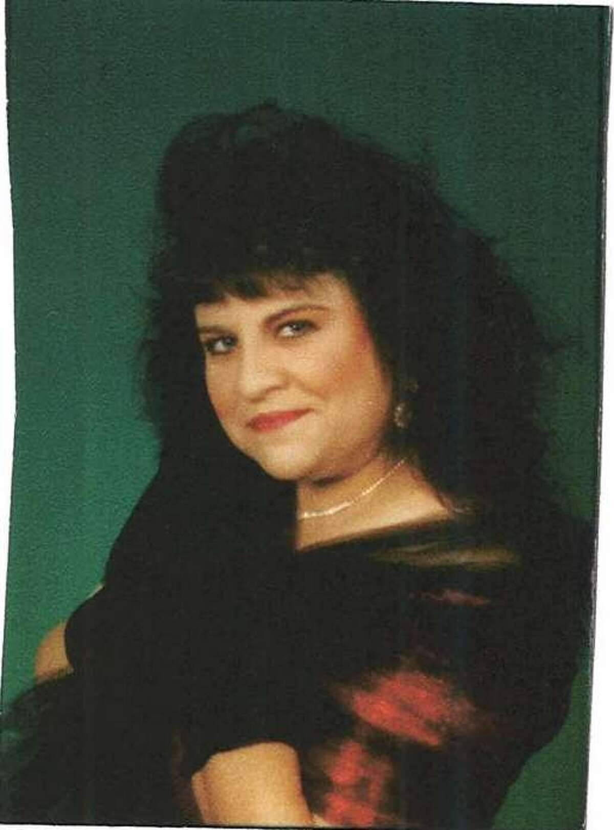 Herlinda Garcia in better times in 2006, when she had flowing, jet black hair that reached her back.