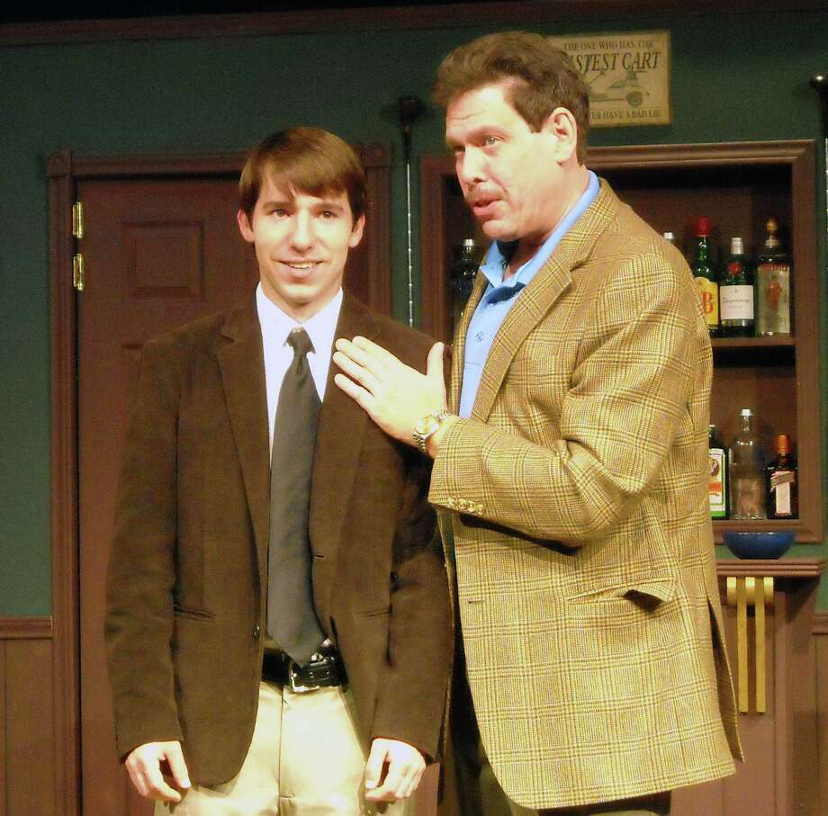 "Ben Cardiff (left) and Allen Rudolph show off their comic timing in ""The Fox on the Fairway."" Photo: Courtesy Christine Crowley"
