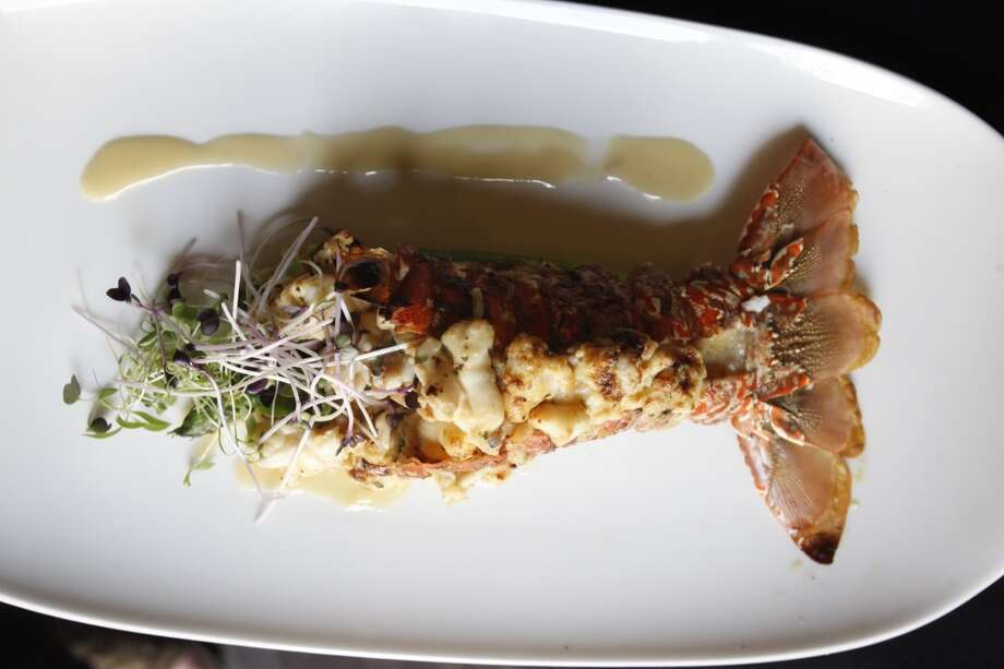 Lobster Thermidor at Mr. Peeples.