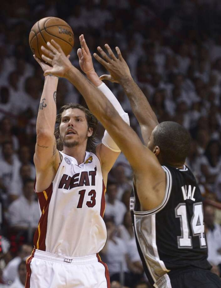 Mike Miller  Former team: Miami Heat  New team: Memphis Grizzlies Photo: Brendan Smialowski, Getty Images