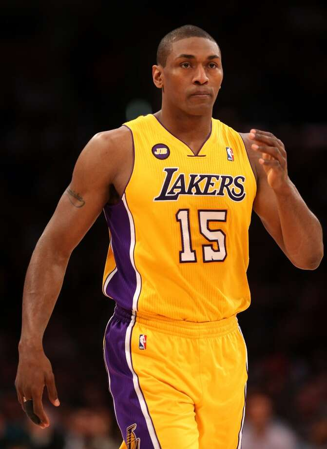 Metta World Peace  Former team: Los Angeles Lakers  New team: New York Knicks Photo: Stephen Dunn, Getty Images