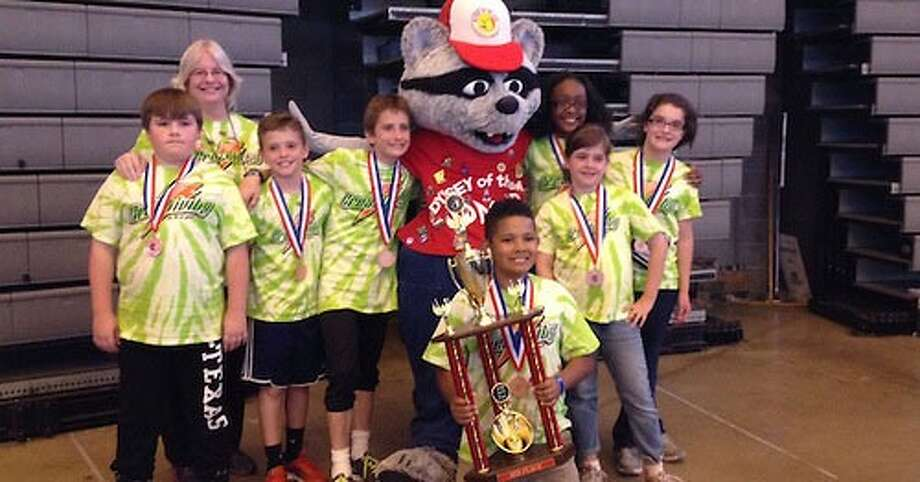 Students at the Walnut Bend Elementary School brought home a third-place finish in the Odyssey of the Mind World Finals. Photo: Contributed Photo