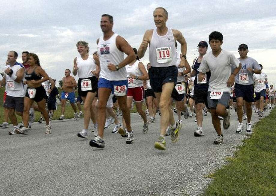 Runners have participated in the Lunar Rendezvous 5K for more than 30 years.
