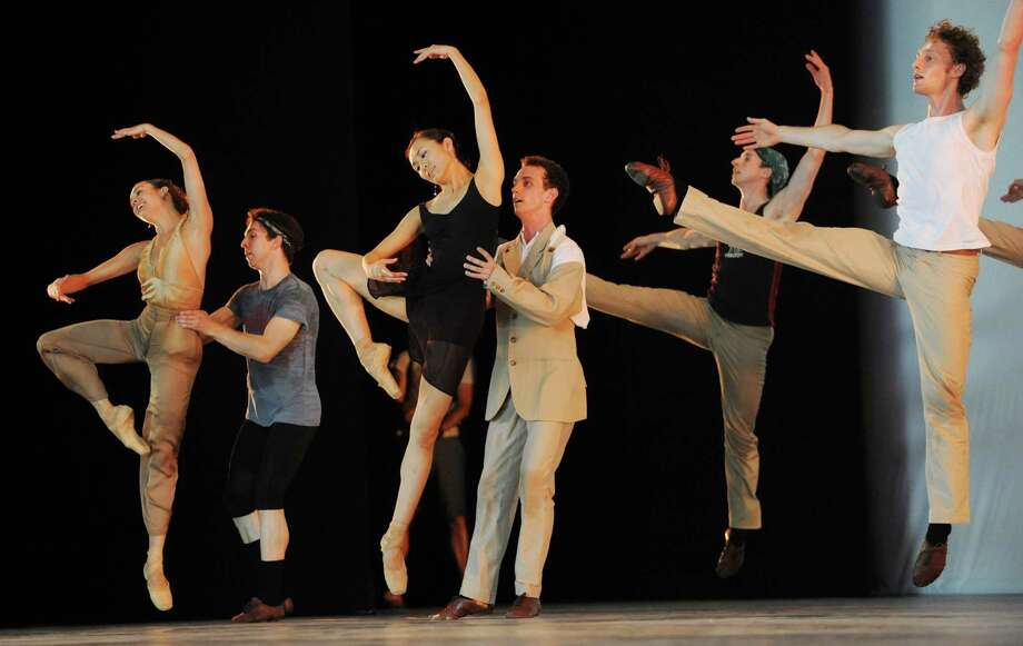 The National Ballet of Canada, ahead of its debut performance at the Saratoga Performing Arts Center, conducts a full dress rehearsal at SPAC on Tuesday, July 16, 2013 in Saratoga Springs, N.Y. (Lori Van Buren / Times Union) Photo: Lori Van Buren / 00023199A