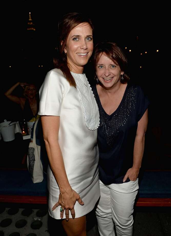 "Kristen Wiig and Rachel Dratch attend The Cinema Society & Brooks Brothers Host A Screening Of Lionsgate And Roadside Attractions' ""Girl Most Likely"" After Party at Hotel Americano on July 15, 2013 in New York City.  (Photo by Jamie McCarthy/WireImage)"