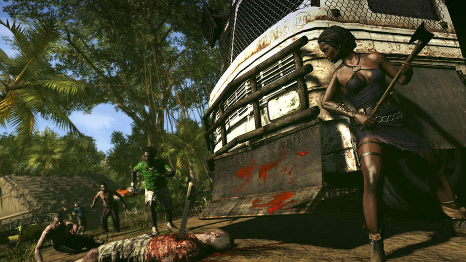GOOD: Hack zombies, fight for your life in tropical locales. Photo: Picasa