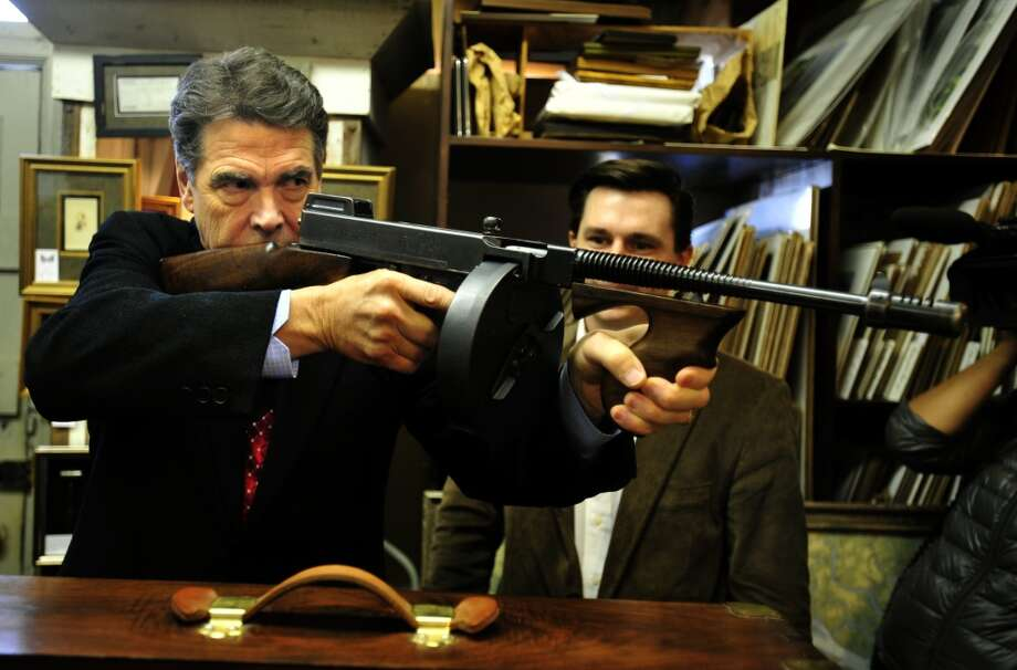 UGLY: Gov. Rick Perry decided to wade into the NRA's campaign against video games and say video games were responsible for violence. Stay classy, governor