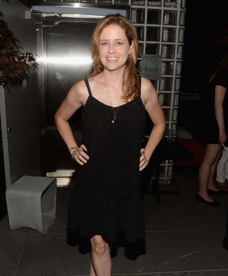"Jenna Fischer attends The Cinema Society & Brooks Brothers Host A Screening Of Lionsgate And Roadside Attractions' ""Girl Most Likely"" After Party at Hotel Americano on July 15, 2013 in New York City.  (Photo by Jamie McCarthy/WireImage)"